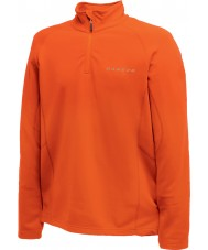 Dare2b Mens Fuseline II Orange Core Stretch Midlayer