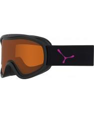 Cebe CBG106 Razor M Black and Pink - Orange Ski Goggles