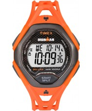 Timex TW5M10500 Mens Ironman Sleek Orange Resin Strap Watch