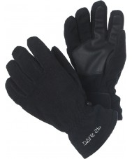 Dare2b DKG021-800C04 Kids Fleece Black Gloves - 2 years