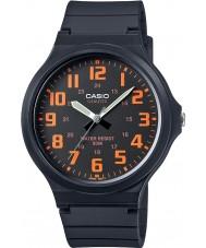 Casio MW-240-4BVEF Mens Core Oversized Black Resin Strap Watch