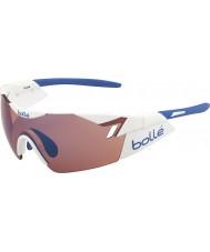 Bolle 6th Sense Shiny White Rose Blue Sunglasses