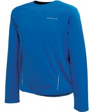 Dare2b Mens Relay Skydiver Blue Long Sleeve Top