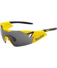 Bolle 6th Sense Shiny Yellow Black TNS Gun Sunglasses