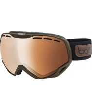Bolle 21111 Emperor OTG Matte Brown - Citruis Gun Ski Goggles