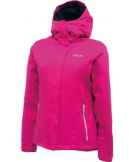 Dare2b DWW120-1Z008L Ladies Convoy Electric Pink Waterproof Jacket - Size XXS (8)