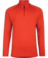 Dare2b Mens Fuseline II Fiery Red Stretch Midlayer