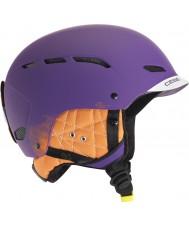 Cebe CBH87 Dusk FS Purple Ski Helmet - 58-62cm
