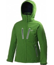 Helly Hansen 62167-450GRN-L Ladies Motion Green Jacket - Size L