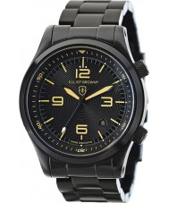 Elliot Brown 202-002-B04 Mens Canford Black IP Steel Bracelet Watch