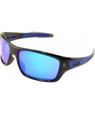 Oakley OO9263-05 Turbine Black Ink - Sapphire Iridium Sunglasses