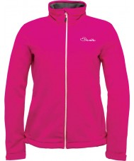 Dare2b Ladies Attentive Electric Pink Softshell Jacket