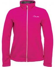 Dare2b DWL316-1Z018L Ladies Attentive Electric Pink Softshell Jacket - Size UK 18 (XXL)