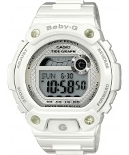 Casio BLX-100-7ER Ladies Baby-G Tide Graph White Watch