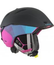 Cebe CBH146 Atmosphere Deluxe Blue Pink Ski Helmet - 58-62cm