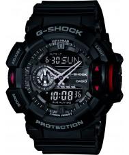 Casio GA-400-1BER Mens G-Shock Black Chronograph Watch