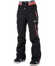 Picture WPT030-BLANP-XS Ladies Exa Black Neon Pink Pants - Size XS