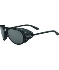 Cebe Lhotse Matt Black Silver Mirror Sunglasses