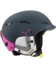 Cebe CBH151 Dusk Pink Blue Block Ski Helmet - 58-62cm