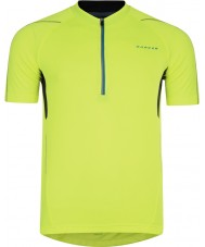Dare2b Mens Fuser Fluro Yellow Jersey
