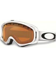 Oakley 02-021 Crowbar Snow Matte White - Persimmon Ski Goggles