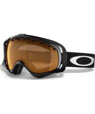 Oakley 02-850 Crowbar Snow Jet Black - Persimmon Ski Goggles