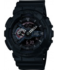 Casio GA-110MB-1AER Mens G-Shock Matt Black Resin Strap Watch