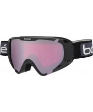 Bolle 21376 Explorer OTG Shiny Black - Vermillion Gun Ski Goggles
