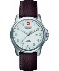 Swiss Military 6-4231-04-001 Mens Swiss Soldier Prime Brown Leather Strap Watch
