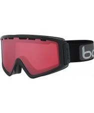 Bolle 21500 Z5 OTG Shiny Black - Vermillon Gun Ski Goggles