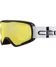 Cebe CBG50 Striker L Orange Chequered - Orange Flash Mirror Ski Goggles
