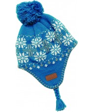Dare2b DGC006-3PAC12 Girls Candygirl Blue Reef Hat - 11-13 years