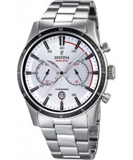 Festina F16818-1 Mens Tour of Britain 2015 All Silver Chronograph Watch