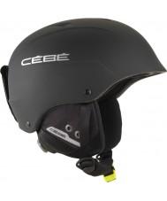 Cebe CBH171 Contest Matte Black Silver Ski Helmet - 62-64cm