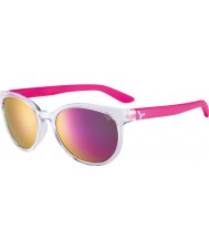 Cebe CBSUNRI1 Sunrise Translucent Pink Sunglasses