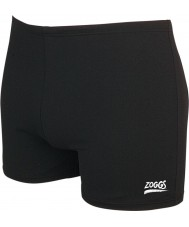 Zoggs 59408030 Mens Cottesloe Hip Racer Black Swimming Trunks - Size 30