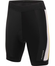 Dare2b Mens Placate Black Cycle Shorts