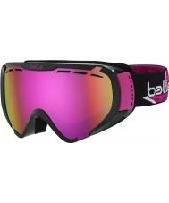 Bolle 21504 Explorer Shiny Black Star Anna Fenninger - Rose Gold Ski Goggles