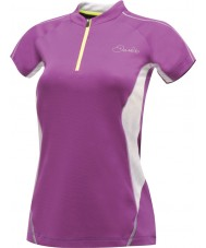 Dare2b Ladies Revel Performance Purple T-Shirt