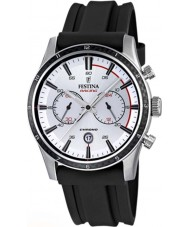 Festina F16874-F Mens Tour of Britain 2015 Silver Black Chronograph Watch