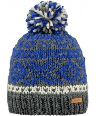 Barts Kids Log Cabin Navy Beanie