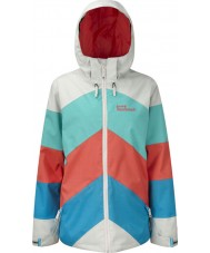 Westbeach TFB1017-XS Ladies Multicolour Kadenwood Jacket - Size XS