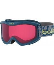 Bolle 21510 Volt Blue Graffiti - Vermillon Ski Goggles - 6 plus Years