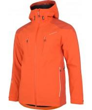 Dare2b DMW118-07G90-XXL Mens Stalwart Pumpkin Orange Waterproof Jacket - Size XXL