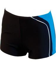Zoggs 23813038 Mens Boston Bay Black Blue Swimming Trunks - Size 38
