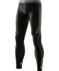 Skins DA99050019001S Mens DNAmic Black Long Tights - Size S