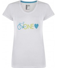 Dare2b DWT319-90010L Ladies One Love White T-Shirt - Size UK 10 (S)