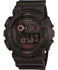 Casio GD-120MB-1ER Mens G-Shock Matt Black Resin Strap Watch