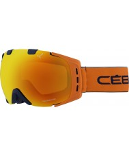 Cebe CBG89 Origins M Blue and Orange - Orange Flash Fire Ski Goggles