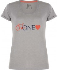 Dare2b Ladies One Love Ash Grey Marl T-Shirt